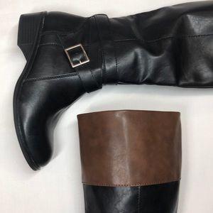 NWOT | Dakota Two-Tone Riding Boot | Size 6